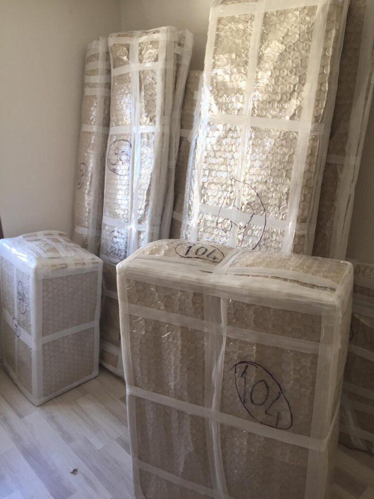 istanbul bodrumevden eve nakliyatta esya paketleme